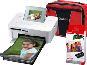 Canon Selphy CP1000 Photo Printer Bundle