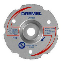 Dremel - Dsm20 Multipurpose Carbide Flush Cutting Wheel