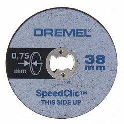 Dremel - Ez Speedclic: Thin Cutting Wheels - 5 Piece