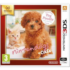 Nintendogs + Cats - Toy Poodle & new Friends Select (3DS)
