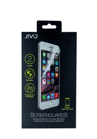 Jivo Screen Guards for iPhone 6 (Pack of 2)