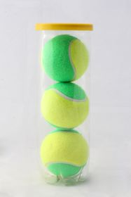 Rox Junior Tennis Balls - Green - 3 Piece Tube