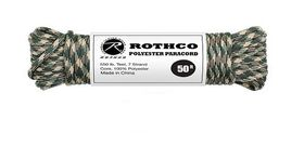Rothco - Polyester Paracord 50ft - Camo