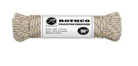 Rothco - Polyester Paracord 50ft - Desert Camo