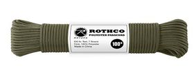 Rothco - Polyester Paracord 100ft - Olive Drab