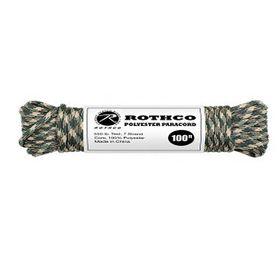 Rothco - Polyester Paracord 100ft - Camo
