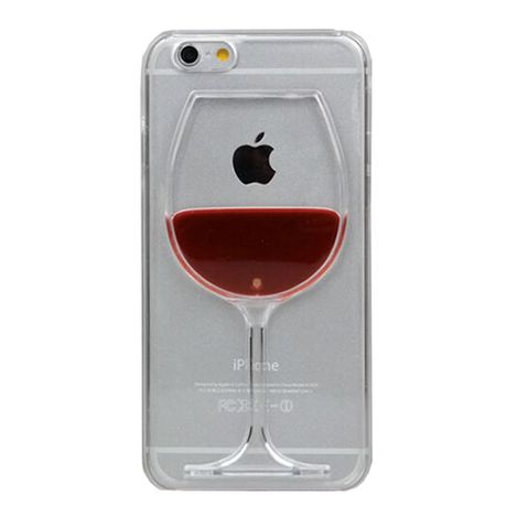 innovative design f45aa e19fc Cover Boutique Red Wine Glass Cover for iPhone 6/6s