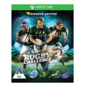 Springbok Rugby Challenge 3 (Xbox One)