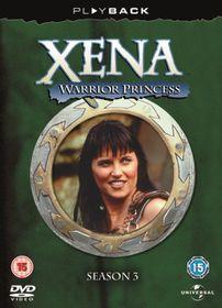 Xena: Warrior Princess Season 3 (DVD)