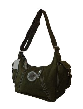 Fino Wash-Nylon Handbag SK7723/WNY - Green