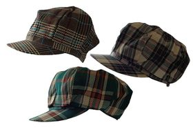 Fino SKC101 3 Piece Newsboy cap clearance Pack