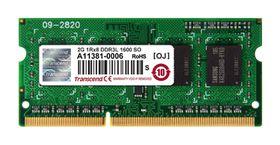 Transcend 2GB DDR3-1600 Low Voltage Notebook Memory