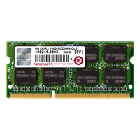 Transcend 4GB DDR3-1333 Notebook Memory