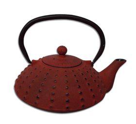 Regent - Cast Iron Chinese Teapot - Terracotta - 600ml