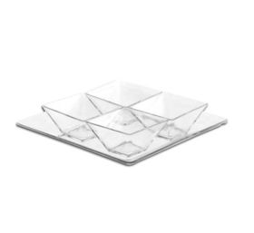 Consol - Montecarlo Glass Platter and Bowls