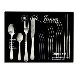 St James - Oxford Stainless Steel Cutlery Set - 16 Piece