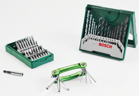 Bosch - 41-Piece Drill-Driver Set & Hex-Tool