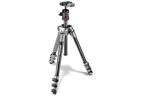 Manfrotto MKBFRA4D-BH Befree Aluminum Tripod with Ball Head Kit - Grey