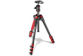 Manfrotto MKBFRA4R-BH Befree Aluminium Tripod with Ball Head Kit - Red