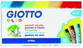 Giotto Olio 12 Oil Pastels