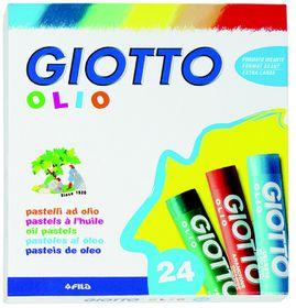 Giotto Olio 24 Oil Pastels