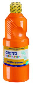 Giotto School Paint 500ml - Orange