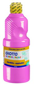 Giotto School Paint 500ml - Pink