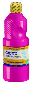 Giotto School Paint 500ml - Magenta
