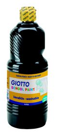 Giotto School Paint 1000ml - Black