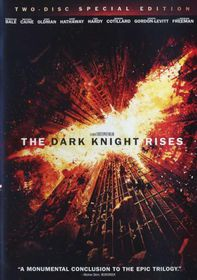 Dark Knight Rises Special Edition (DVD)