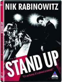 Nik Rabinowitz: Stand Up (DVD + CD)