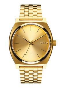 Nixon Time Teller Gold Unisex Watch - A045511