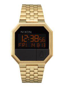 Nixon Re Run All Gold Mens Watch - A158502