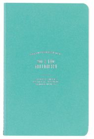 Ogami Professional Collection Blue - Mini 48 Pages Unruled Softcover Notebook