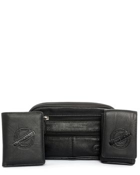 Bossi Men's Uni-Bag, Wallet & Cell/Camera Pouch
