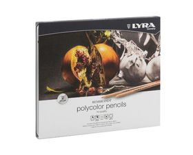 Lyra Rembrandt Polycolor Pencils - 24 Colours in Metal Box