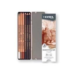 Lyra Rembrandt Sketching Set - 6 Pieces in Metal Box