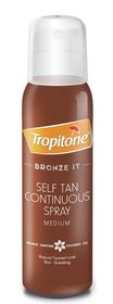 Tropitone Bronze It Selftan Medium Spray - 125ml