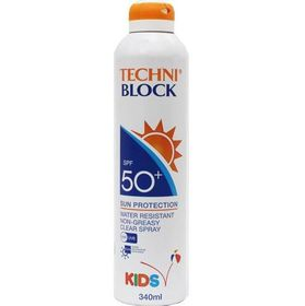 Techniblock SPF50 Spray Kid - 340ml