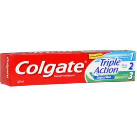 Colgate Toothpaste Triple Action - 100ml
