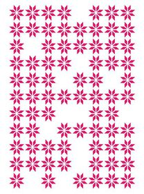 Couture Creations Mikashet Embossing Folder 5 x 7 - Random Daisies