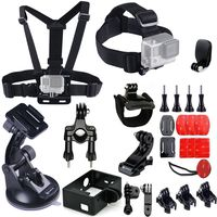 Smatree 25-in-1 Accessories Kit for Gopro HD Hero 4,3+,3,2,1 Camera