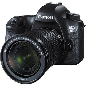 Canon 6D with 24-105mm IS STM Lens Bundle