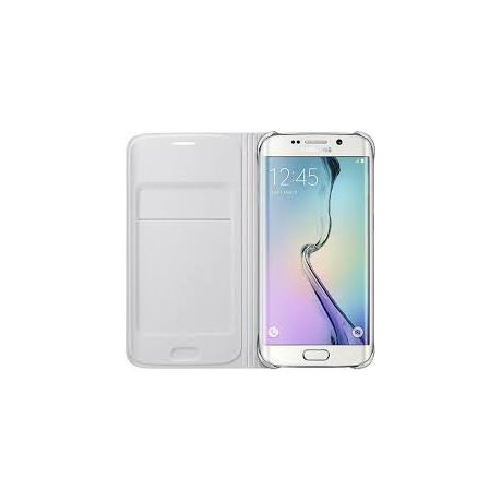 check out c9f38 01235 Samsung Galaxy S6 Edge Flip Wallet - White