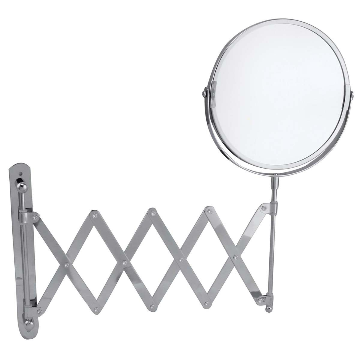 Extendable Mirror Bathroom Wildberry Extendable Mirror 17 Cm Abs5020 Buy Online In