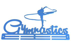 TrendyShop Gymnastics Rhythmic Medal Hanger - Blue