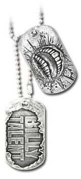Alchemy Billy Talent Dog Tags (Pair of 2) - Pewter