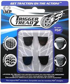 Trigger Treadz 4 Pack - Black (PS4)