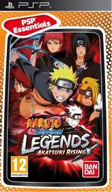 Naruto Shippuden: Legends - Akatsuki Rising (Essentials) (PSP)
