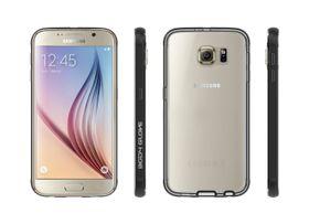 Body Glove Clownfish Aluminum Case for Galaxy S6 - Clear & Black